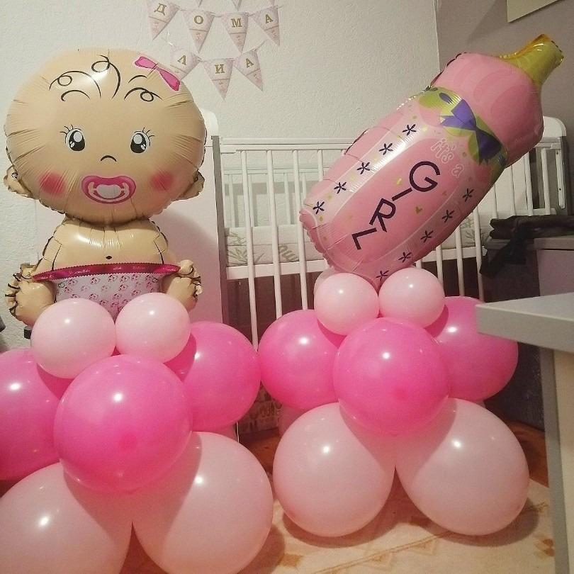 Декорација за добредојде дома на мајката и бебето