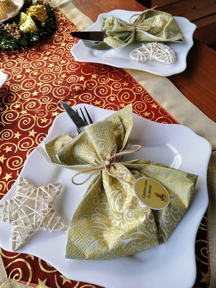 Декорирани салфетки за слава