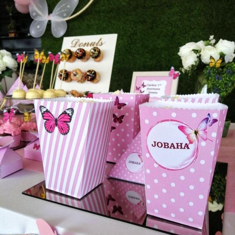 Слатка маса со тема пеперутка