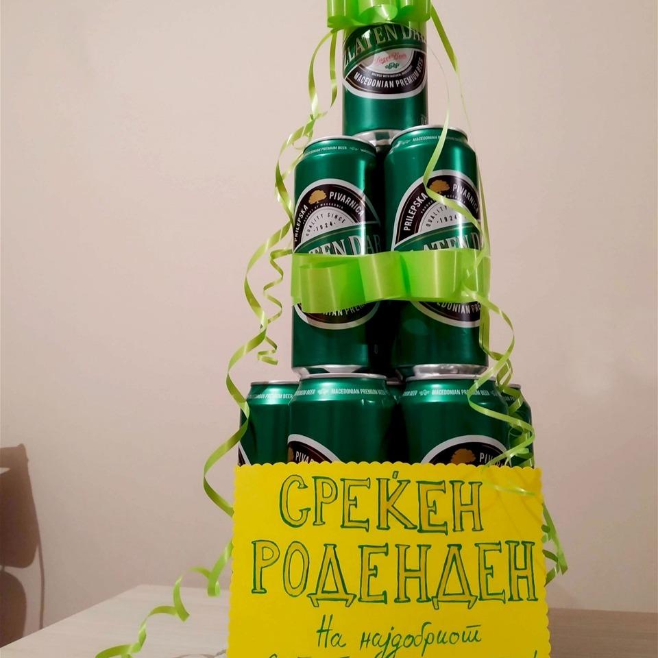 Торта од пиво