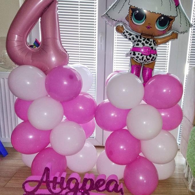 Декорација со балони за роденден
